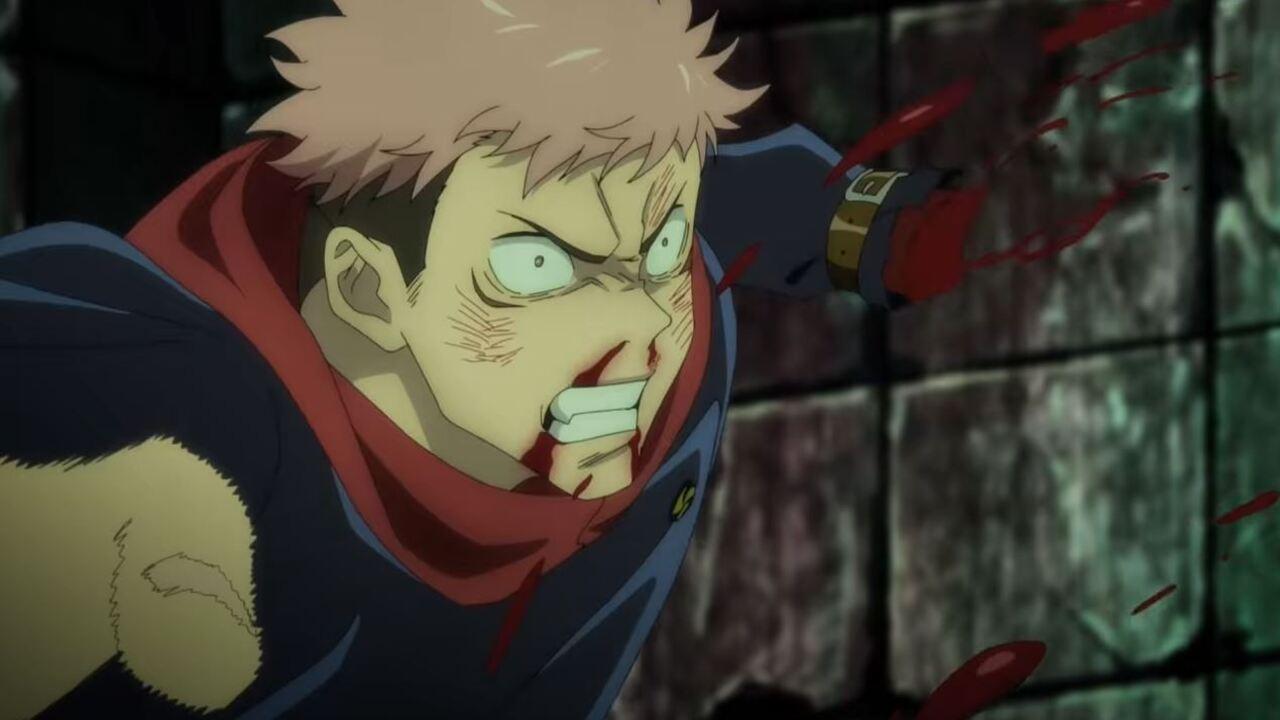 itadori loses hand jujutsu kaisen anime