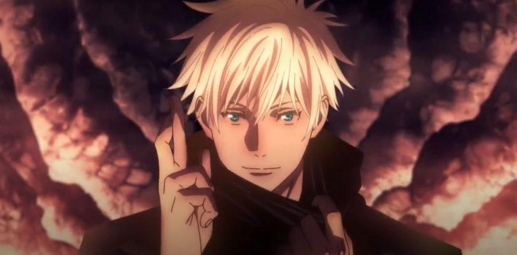 goujo satoru eyes open jujutsu kaisen anime