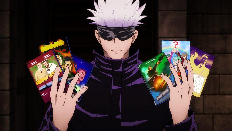 goujo satoru funny jujutsu kaisen anime