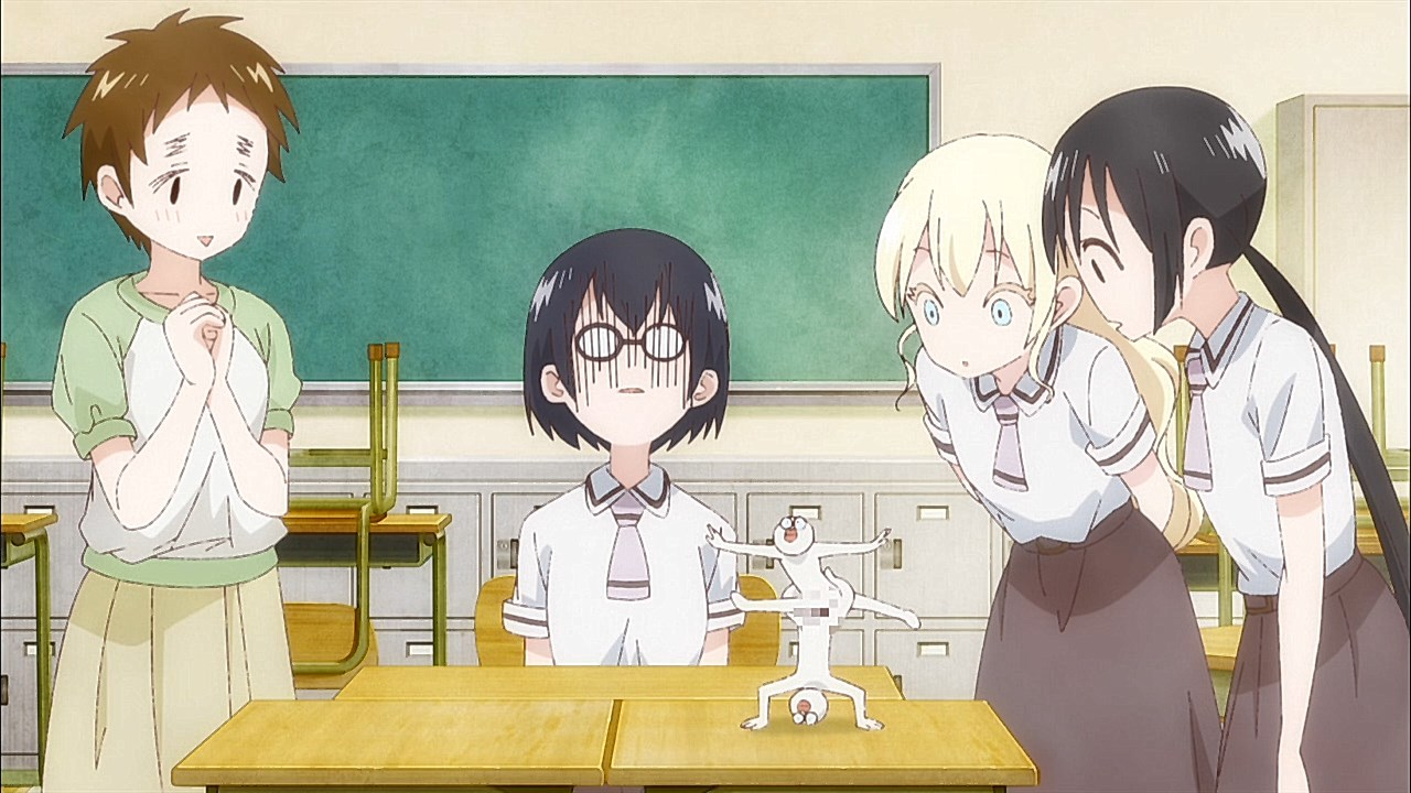 pastimer's club asobi asobase anime